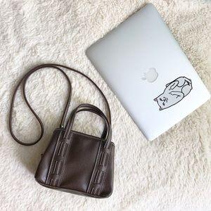 Vintage Tommy Hilfiger Mini Leather Bag